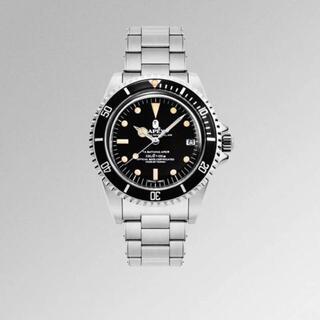 アベイシングエイプ(A BATHING APE)のBAPE VINTAGE TYPE1 BAPEX BLACK 腕時計(腕時計(アナログ))