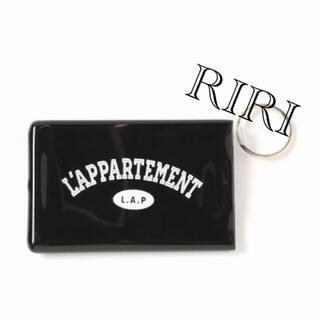 アパルトモンドゥーズィエムクラス(L'Appartement DEUXIEME CLASSE)のQuiky Card Holder W/Keyring(パスケース/IDカードホルダー)