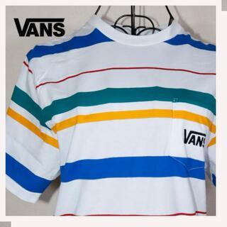 VANS - VANS Tシャツ ボーダー 未使用【アメリカ直輸入】 サイズ:S②