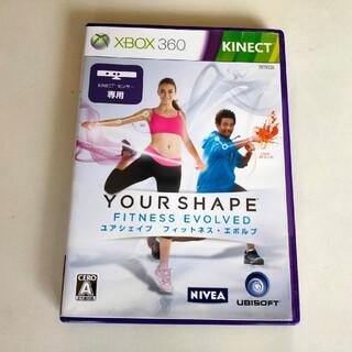 Xbox360 - ユアシェイプ フィットネス・エボルブ