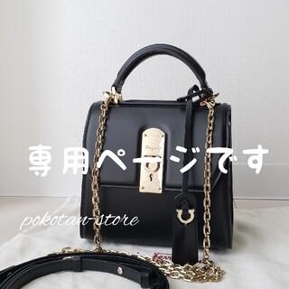 Salvatore Ferragamo - 美品【フェラガモ】ガンチーニ BOXYZ トップハンドル スモール ハンドバッグ