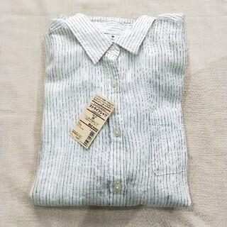 新品■無印良品.フレンチリネンシャツ