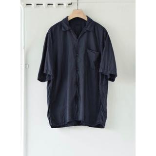 COMOLI - 美品 21ss COMOLI シルク オープンカラーシャツ シャツ オーラリー