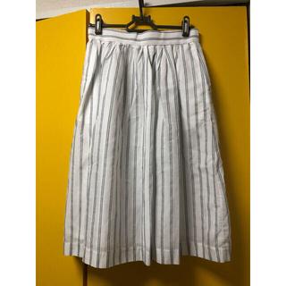 テチチ(Techichi)の♡テチチ♡  コードレーンストライプスカート Mサイズ(ひざ丈スカート)