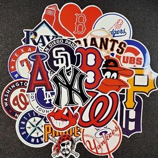 MLB ステッカー セット 野球 メジャー ホームラン ボール バット グローブ