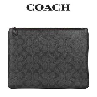コーチ(COACH)の正規店購入 コーチ シグネチャー クラッチバッグ セカンドバッグ 新品(セカンドバッグ/クラッチバッグ)