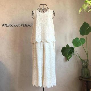 MERCURYDUO - 【美品】マーキュリーデュオ レースセットアップ