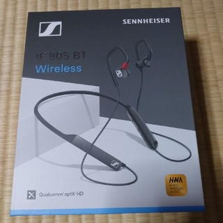 SENNHEISER - ゼンハイザー Bluetoothイヤフォン ネックバンド IE 80S BT,
