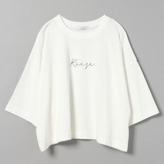 JEANASIS - 【JEANASIS】ワイドTシャツ