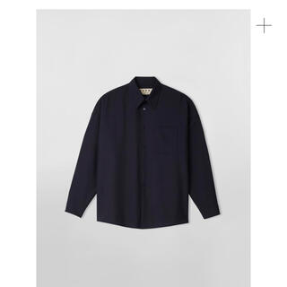 Marni - marni ウールトロピカルシャツシャツ  2021ss