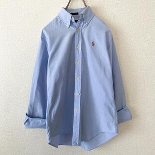 ラルフローレン(Ralph Lauren)のラルフローレン / 長袖シャツ ワンポイント 青 水色(シャツ/ブラウス(長袖/七分))