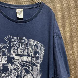 デルタ(DELTA)のDELTA PRO WEIGHT Tシャツ 90s 古着 HOTROD ゆるだぼ(Tシャツ/カットソー(半袖/袖なし))