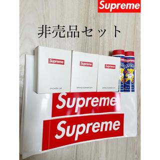 シュプリーム(Supreme)の【Supreme】シュプリーム ノベルティセット 非売品 ステッカー付き(ノベルティグッズ)
