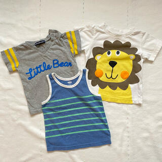 オールドネイビー(Old Navy)のTシャツ ノースリーブシャツ 80 3枚セット(Tシャツ)