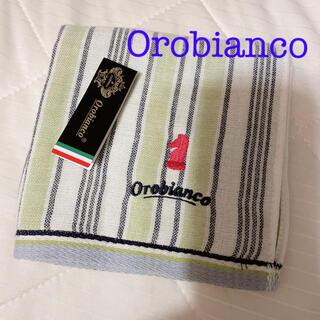 オロビアンコ(Orobianco)の匿名配送 オロビアンコOrobianco 新品ハンカチタオル(ハンカチ/ポケットチーフ)