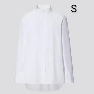 UNIQLO - ユニクロ ジルサンダー スーピマコットンタックシャツ ホワイト S 新品