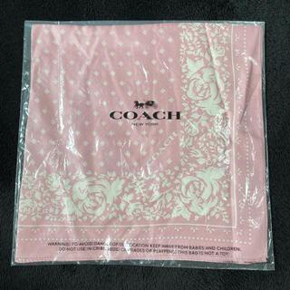 コーチ(COACH)のCOACH コーチ スカーフ(バンダナ/スカーフ)