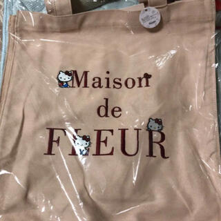Maison de FLEUR - メゾンドフルール  サンリオ トート