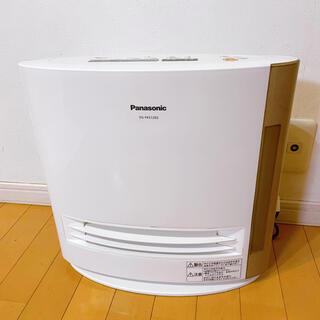 美品! Panasonic パナソニック 加湿セラミックファンヒーター ホワイト(ファンヒーター)