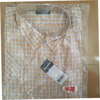 UNIQLO - ユニクロ ブロードチェックシャツ  半袖  メンズ