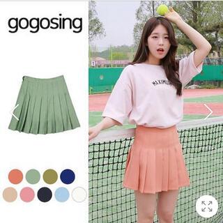 ゴゴシング(GOGOSING)のgogosing プリーツスカート(ミニスカート)