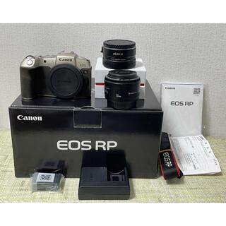 Canon - Canon EOS RPフルサイズボディマウントアダプター レンズセット