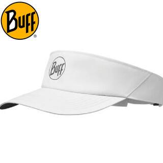 THE NORTH FACE - Buff バフ  サンバイザー ランニングキャップ 帽子 白 バイザー