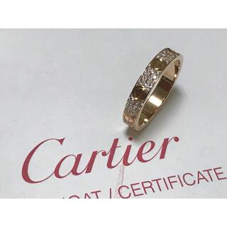 Cartier - 証明書付き カルティエ PG ミニラブリング パヴェ ダイヤ #52 12号