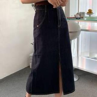 dholic - 韓国 デニム スカート ファッション