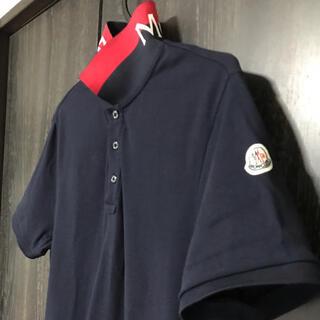 MONCLER - モンクレール  メンズ ポロシャツ ネイビー 国内正規品 美品