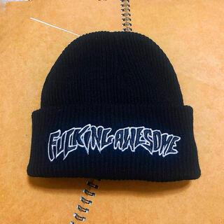 シュプリーム(Supreme)の新品 ファッキンオーサム Fucking awesome ニット帽 ビーニー(ニット帽/ビーニー)