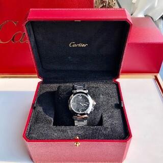 Cartier - 美品 Cartier カルティエ 腕時計 パシャC ホワイト