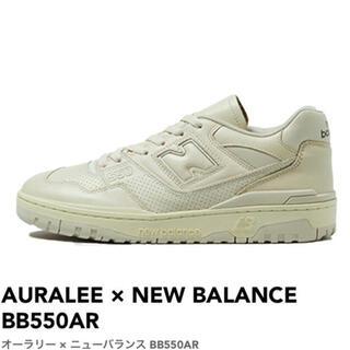 ニューバランス(New Balance)のARALEE × New Balance 550 オーラリー 27.5cm(スニーカー)