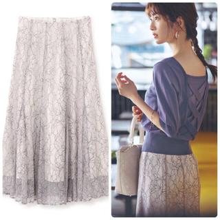 PROPORTION BODY DRESSING - プロポーション 大人気🌸完売 レースフレアスカート