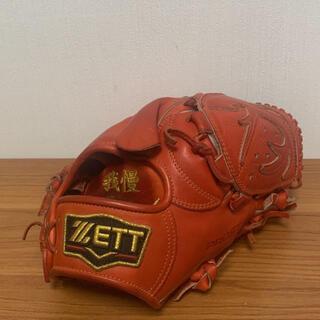 ゼット(ZETT)のZETT プロステイタス 硬式用 投手グローブ(グローブ)