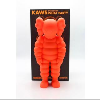 メディコムトイ(MEDICOM TOY)の新品 KAWS WHAT PARTY orange カウズ supreme  (フィギュア)