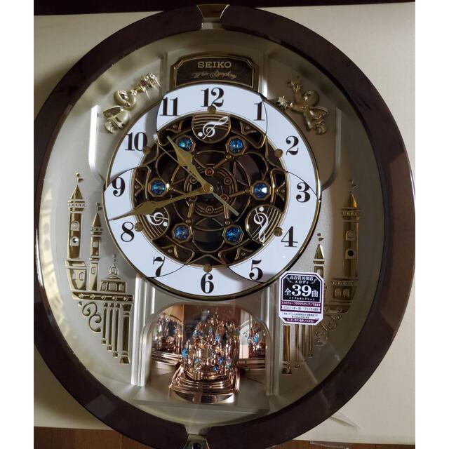 SEIKO(セイコー)のまかなまま様専用 新品 セイコー からくり時計 電波時計 インテリア/住まい/日用品のインテリア小物(掛時計/柱時計)の商品写真