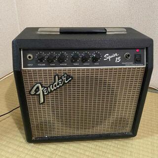 フェンダー(Fender)のfender アンプ Squier15(ギターアンプ)