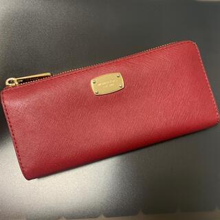 マイケルコース(Michael Kors)のMICHAEL KORS(マイケルコース)赤 長財布(財布)