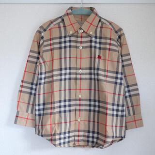 バーバリー(BURBERRY)のバーバリーチェックシャツ(Tシャツ/カットソー)