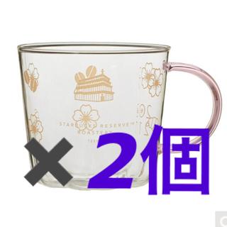 スターバックスコーヒー(Starbucks Coffee)のスターバックスリザーブ 耐熱ハンドルサクラマグ2021(グラス/カップ)