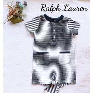 Ralph Lauren - ポロラルフローレン Polo Ralph Lauren ベビー ロンパース 70