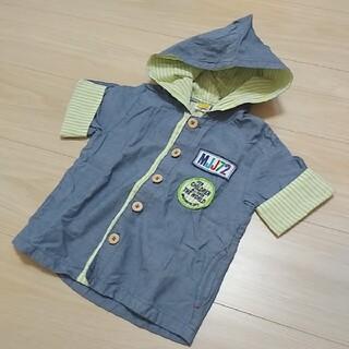 ムージョンジョン(mou jon jon)の95㎝☆ムージョンジョン 半袖シャツ フード(Tシャツ/カットソー)
