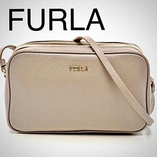 Furla - フルラ FURLA LILY リリー ショルダーバッグ レザー グレーベージュ