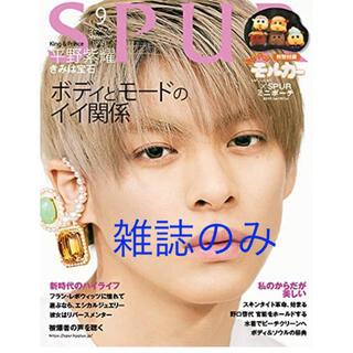 シュウエイシャ(集英社)のSPUR (シュプール) 2021年9月号 雑誌のみ(ファッション)
