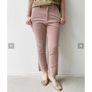 アパルトモンドゥーズィエムクラス(L'Appartement DEUXIEME CLASSE)の新品 アパルトモン  REMI RELIEF Corduroy Pants  (カジュアルパンツ)
