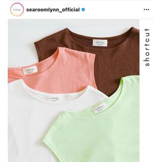 シールームリン(SeaRoomlynn)のsearoomlynn made In Japan series トップス(Tシャツ(半袖/袖なし))