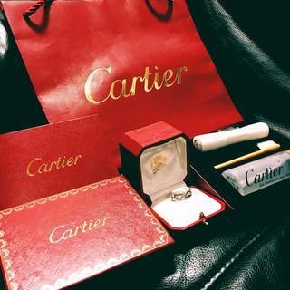 カルティエ(Cartier)の【ちーた様専用】カルティエ Cハート  ダイヤ リング(リング(指輪))