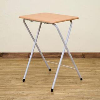 ミニテーブル サイドテーブル 折りたたみ ブラウン ナチュラル(折たたみテーブル)