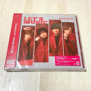 セクシー ゾーン(Sexy Zone)のSexyZone LET'S MUSIC 初回限定盤B 初回B CD DVD(ポップス/ロック(邦楽))
